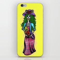 'La Catrina' (Day of The Dead) iPhone & iPod Skin