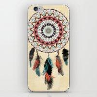 Mandala Dream Catcher iPhone & iPod Skin