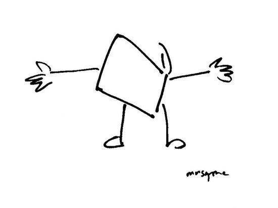 Book Hug Art Print
