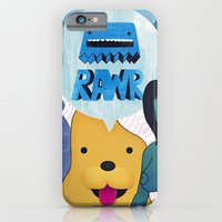 iPhone & iPod Case featuring Rawr Returns! by mrbiscuit