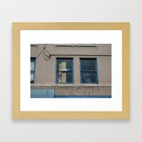 I Can't Predict The Future Framed Art Print