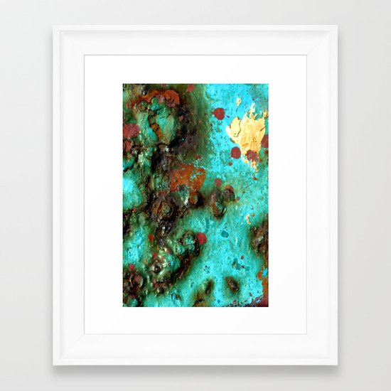 Outer World Framed Art Print