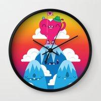 Love On Top Wall Clock