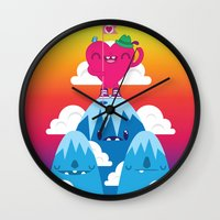Love On Top Wall Clock