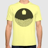 See in the Dark Mens Fitted Tee Lemon SMALL