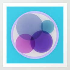 Venn Art Print