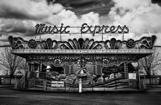 Music Express Canvas Print