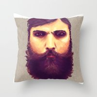 Jeff, Tor and Odin. Throw Pillow