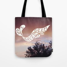 By grace alone Tote Bag