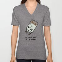 My Friends Need To Be Pu… Unisex V-Neck