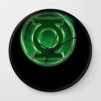 Green Lantern Spectre Wall Clock