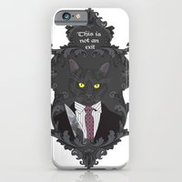 American Psycho Kitty iPhone 6 Slim Case