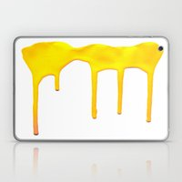 Yellow Splatter Laptop & iPad Skin