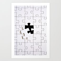 Puzzle - for iphone Art Print