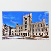 Northern Illinois University Castle - HDR Rug