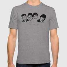 The Smiths Mens Fitted Tee Athletic Grey SMALL