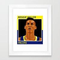REGGIE! Framed Art Print