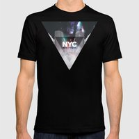 NYC - I Love New York 6 Mens Fitted Tee Black SMALL