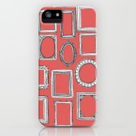 Picture Frames Coral iPhone (5, 5s) Slim Case