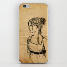 Elizabeth Bennet iPhone & iPod Skin