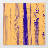 Gerhard Richter Inspired Abstract Urban Rain 4 Modern Art Canvas Print