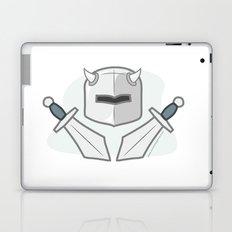 Exile From Ullathorpe - Helmet and Swords Laptop & iPad Skin