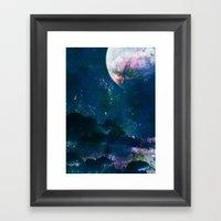 5pace 4bstarct Framed Art Print