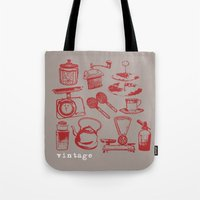 kitchen vintage Tote Bag