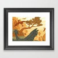 Journey To The Edge Of T… Framed Art Print