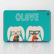 Hipster #LOVE iPad Case
