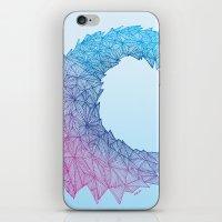 Crystal Wave iPhone & iPod Skin
