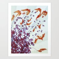From Trees Art Print