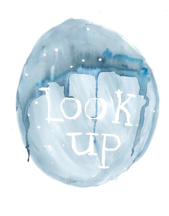 Look Up Art Print