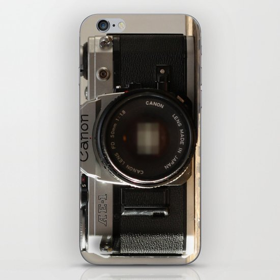 film camera  iPhone & iPod Skin