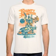 BOUNTY HUNTER Mens Fitted Tee Natural SMALL