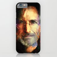 iPhone & iPod Case featuring Steve Jobs by turksworks