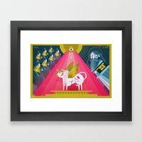 Elijah And The Prophets … Framed Art Print