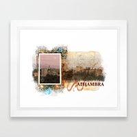 Al Hambra Framed Art Print