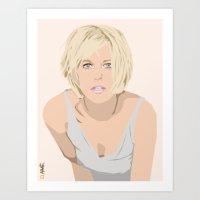 Meg Ryan Art Print