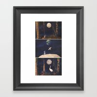 The Moon Rabbit Framed Art Print