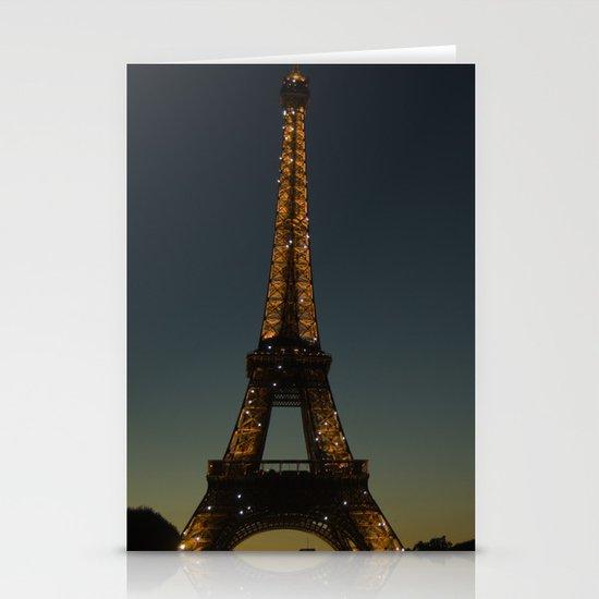 Eiffel Tower Stationery Card