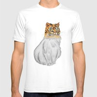 Roar Mens Fitted Tee White SMALL