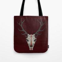 Demon Deer Tote Bag