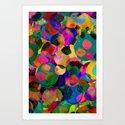 Rainbow Spot Art Print