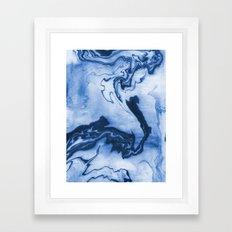 Chiharu - Spilled Ink Ma… Framed Art Print
