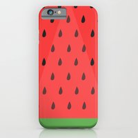 iPhone & iPod Case featuring Watermelon Slice by Smellissas