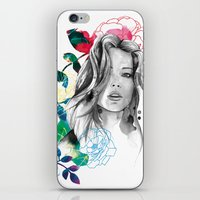 Kristen Fashion Watercol… iPhone & iPod Skin