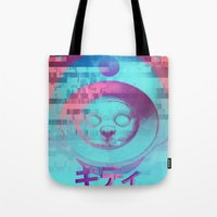 Kitty Of The Rising Sun Tote Bag