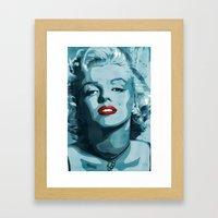 Brass Knuckle Marilyn Mo… Framed Art Print