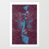 abstars Art Print
